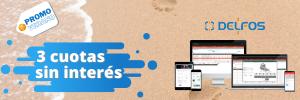 Promo 3 cuotas sin interés - software Delfos